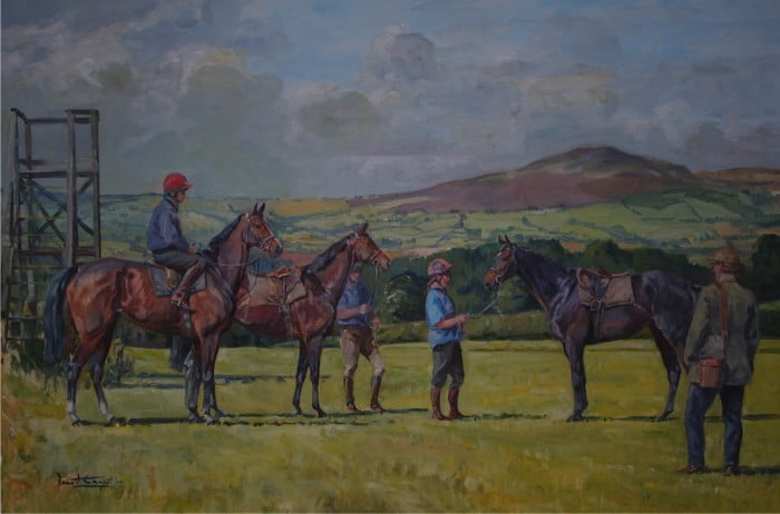 The Gallops by Daniel Crane