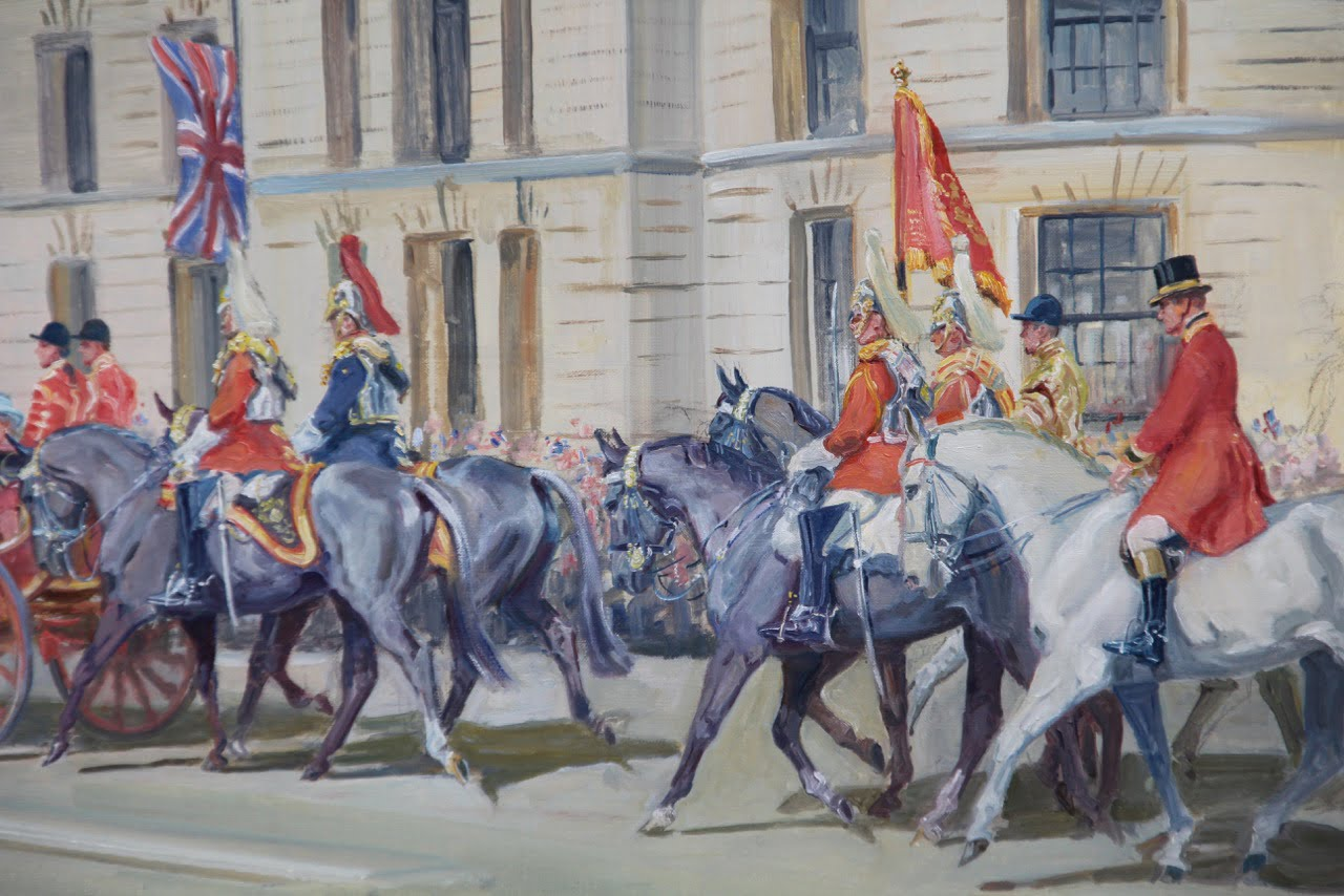 Official Diamond Jubilee Painting